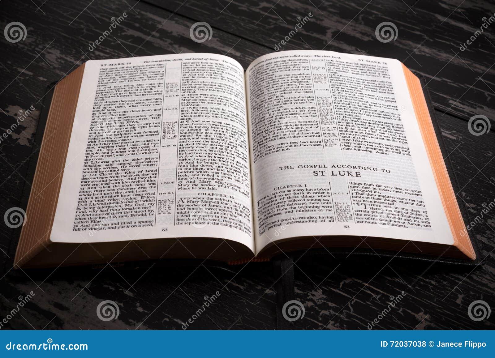 Bible Open Stock Photos - Royalty Free Stock Images |Open Kjv Bible