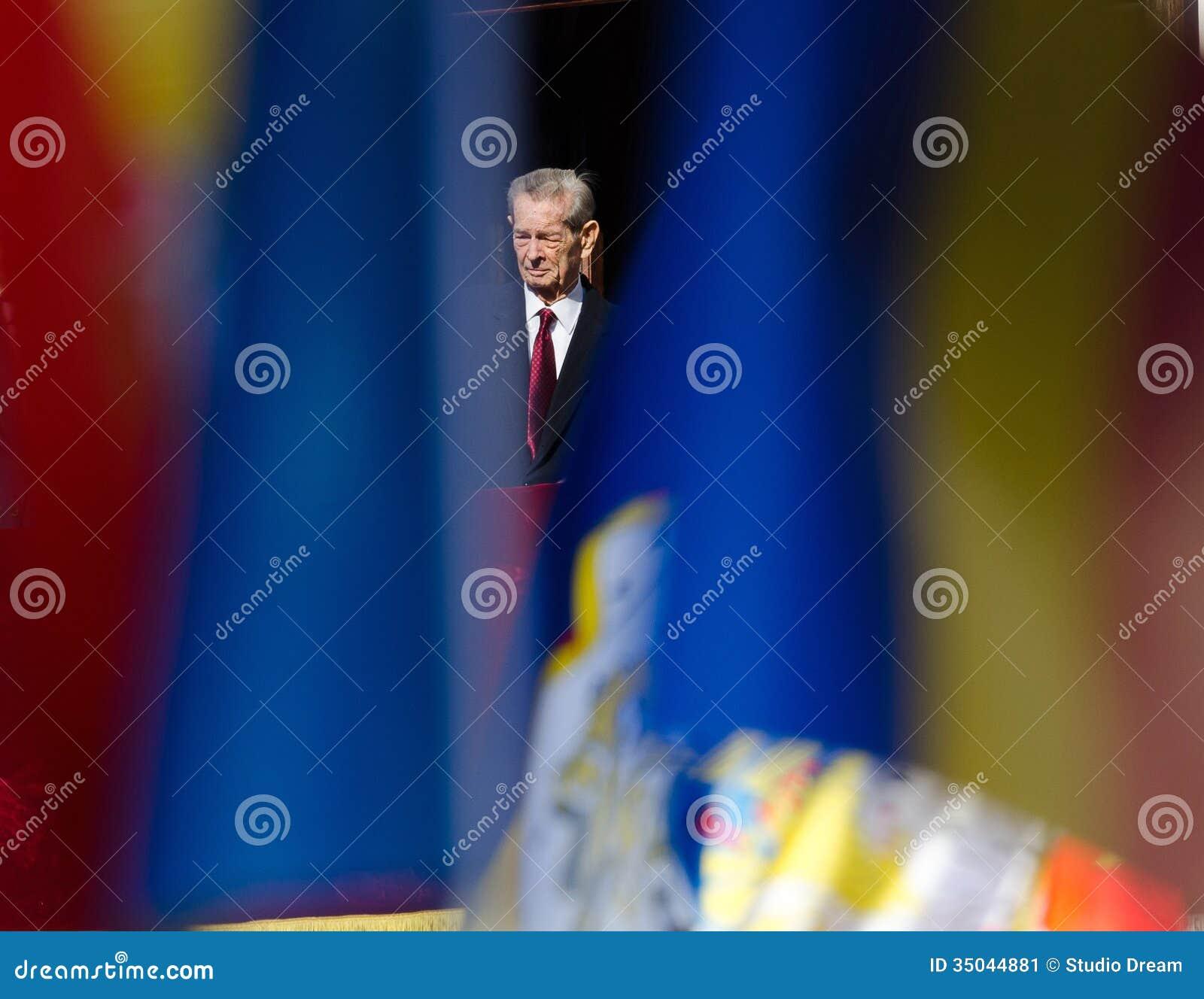 King Mihai I of Romania