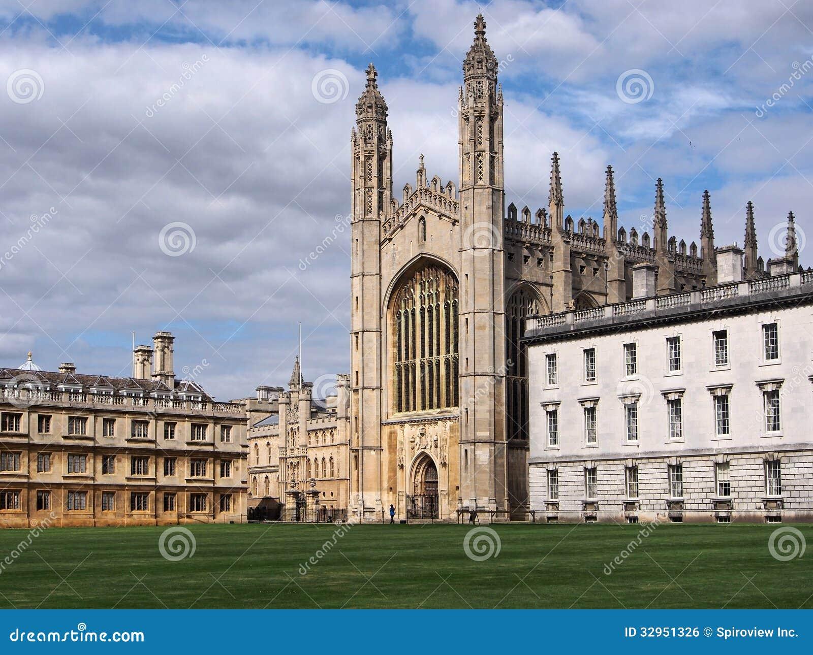 King's College, Cambridge University Stock Photo - Image of
