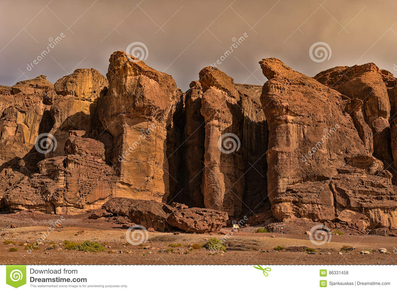 King Solomons pillars Israel