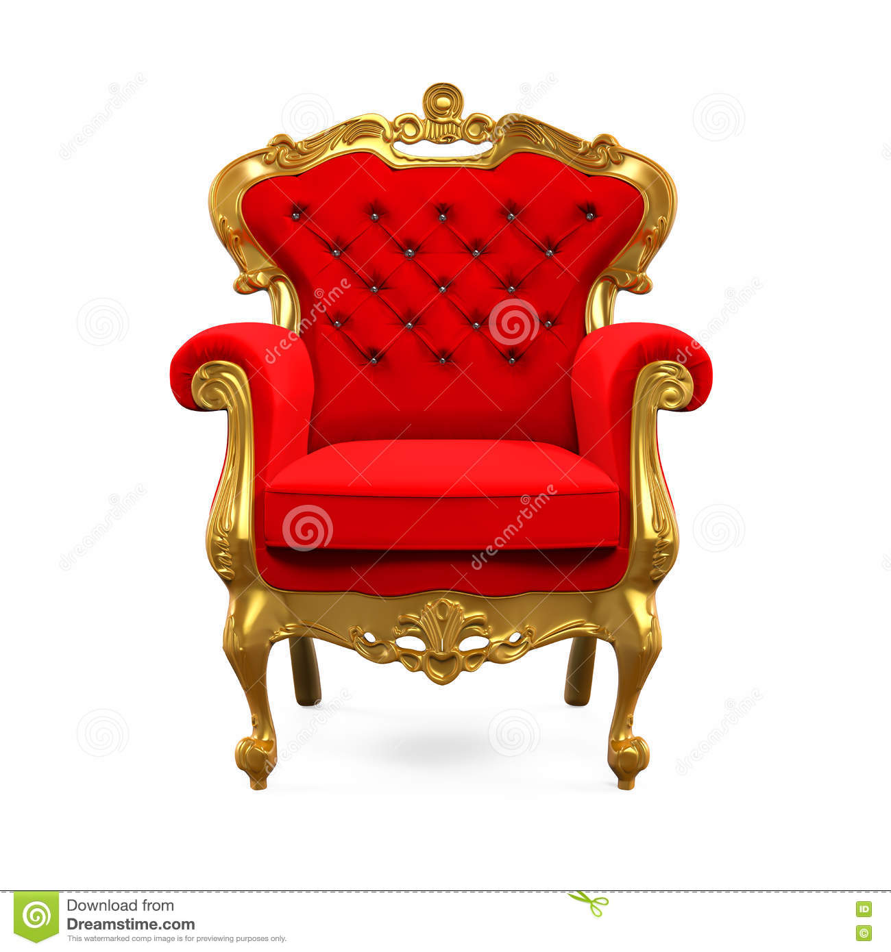 King chair with king - King Throne Chair Stock Photos
