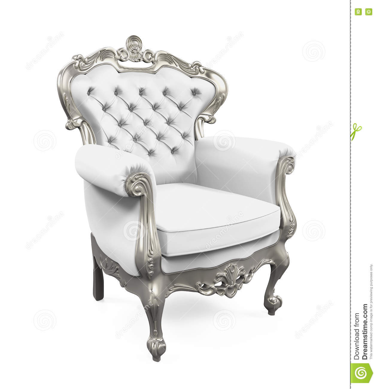 King Throne Chair Stock Illustration Image 75616472