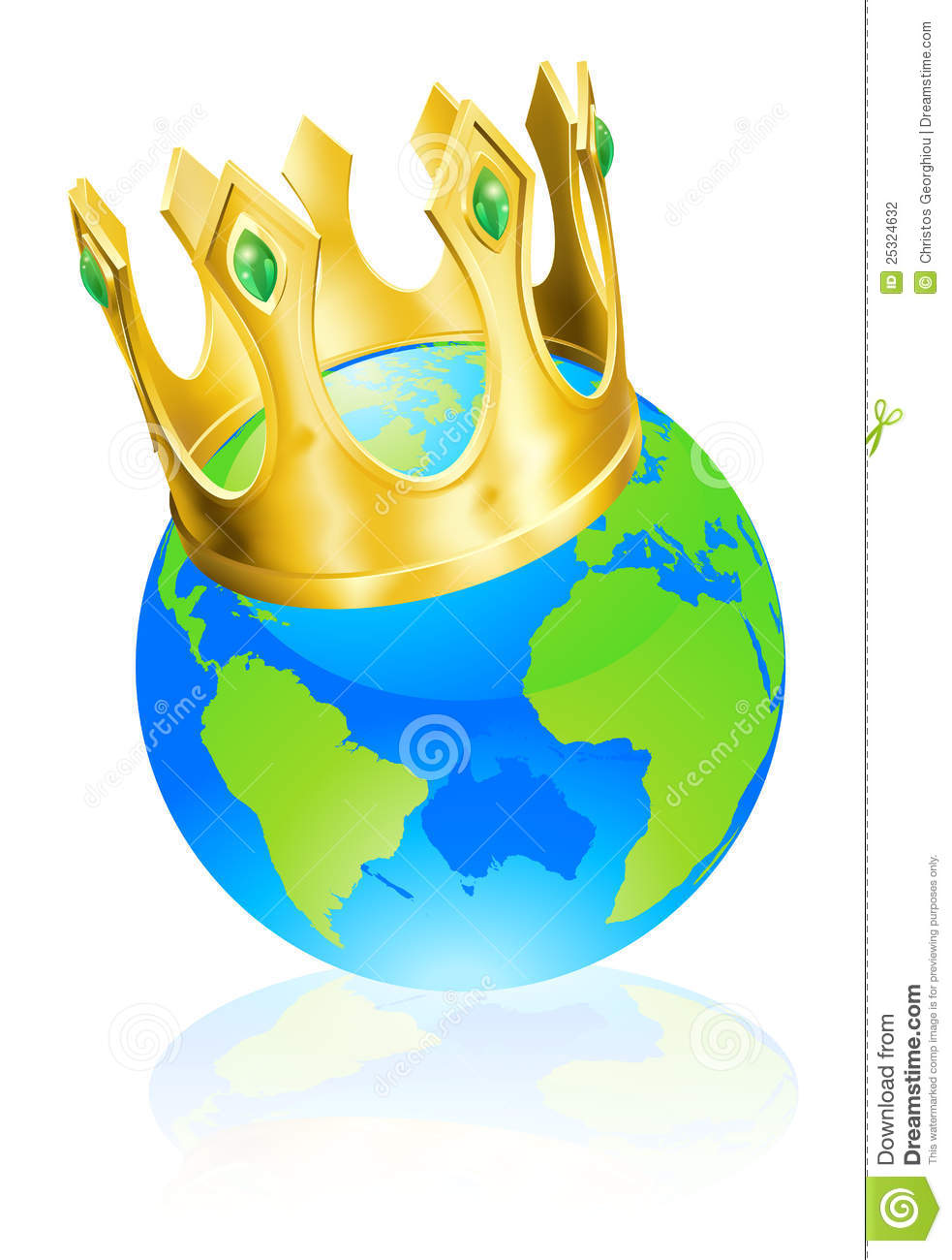 King Of The World Concept Stock Photography Image 25324632