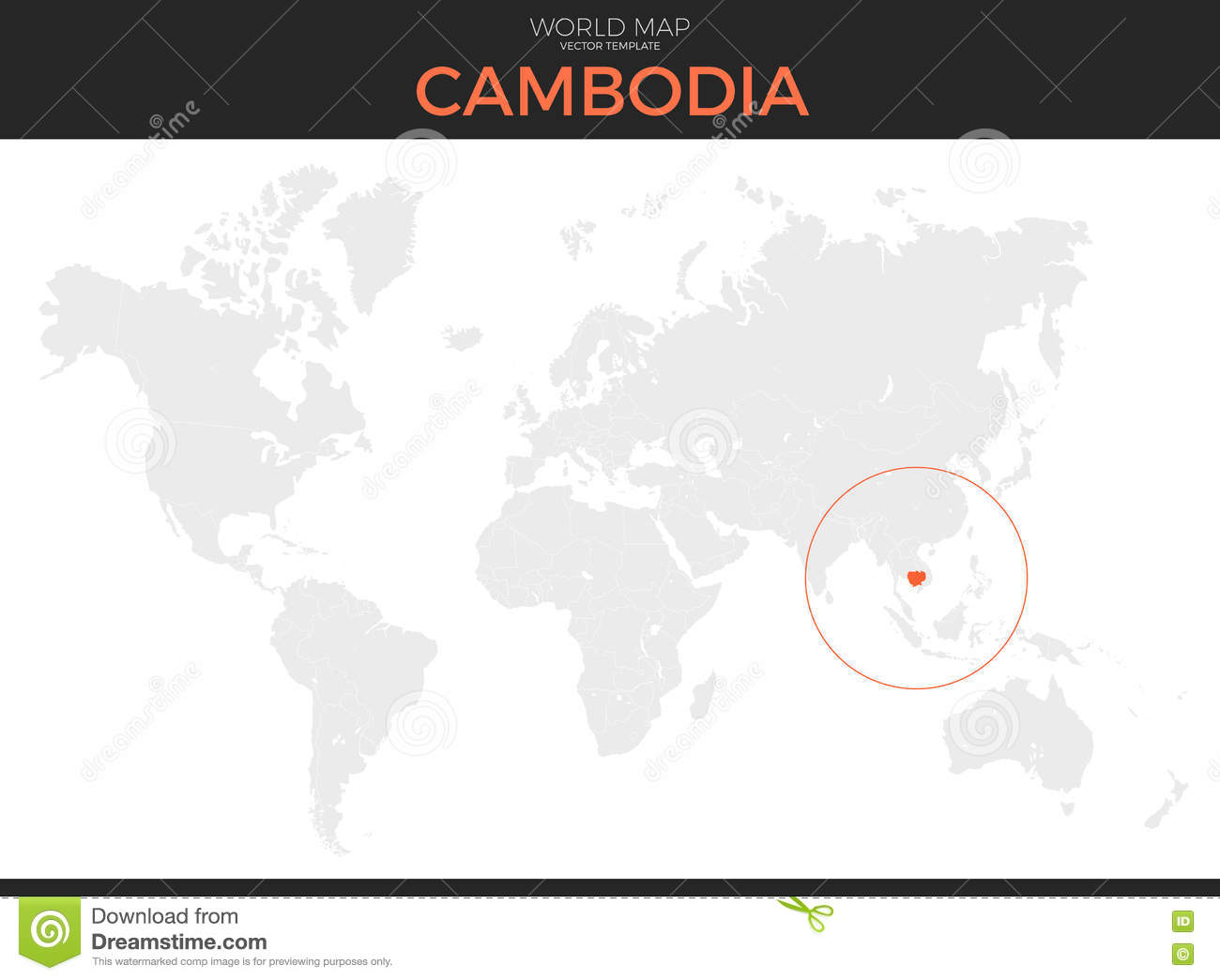 Awesome Where Is Cambodia Located On A World Map Images - Printable ...