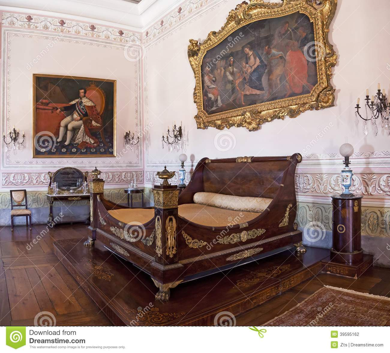 Kings Bedroom Neoclassical Furniture Mafra Palace