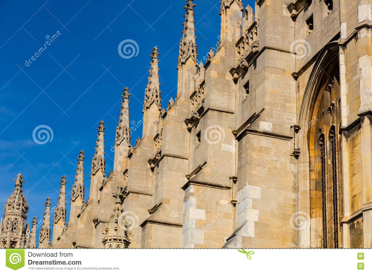 Download Kings College, Cambridge stock image. Image of king, lawn - 75691239