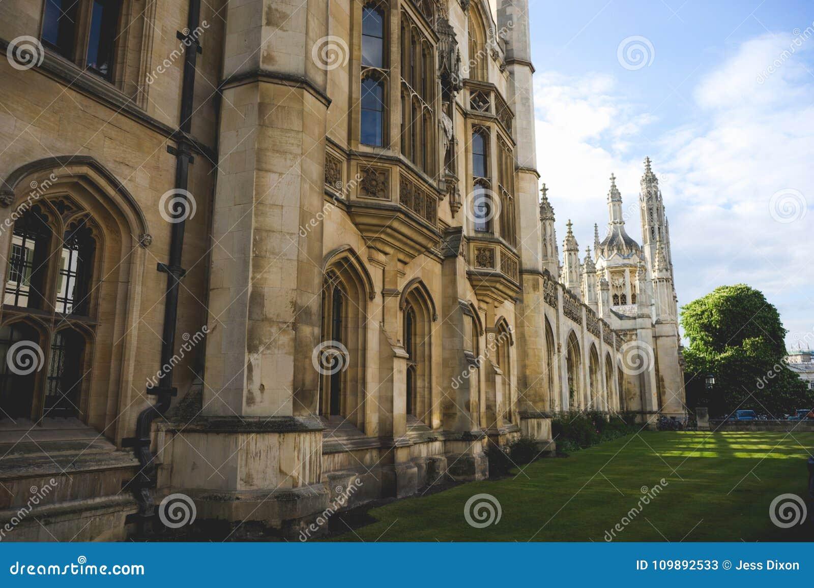 Kings College, Cambridge University Building, England