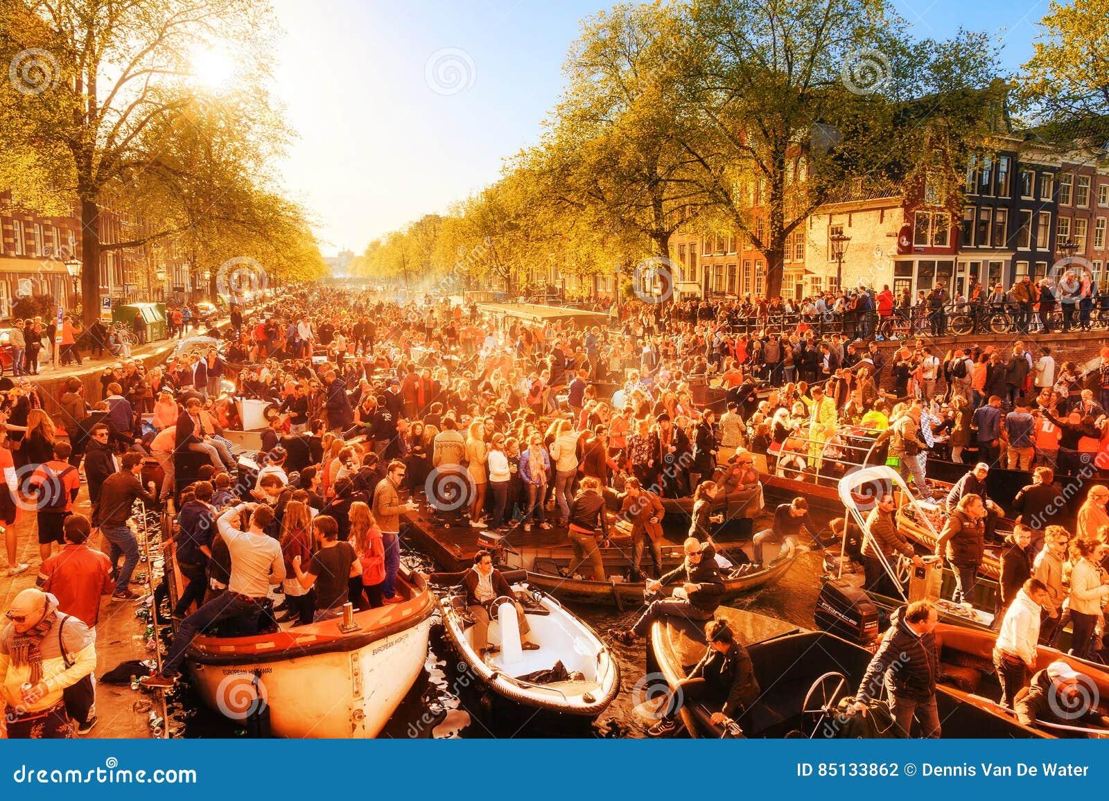 Kingsday Амстердам