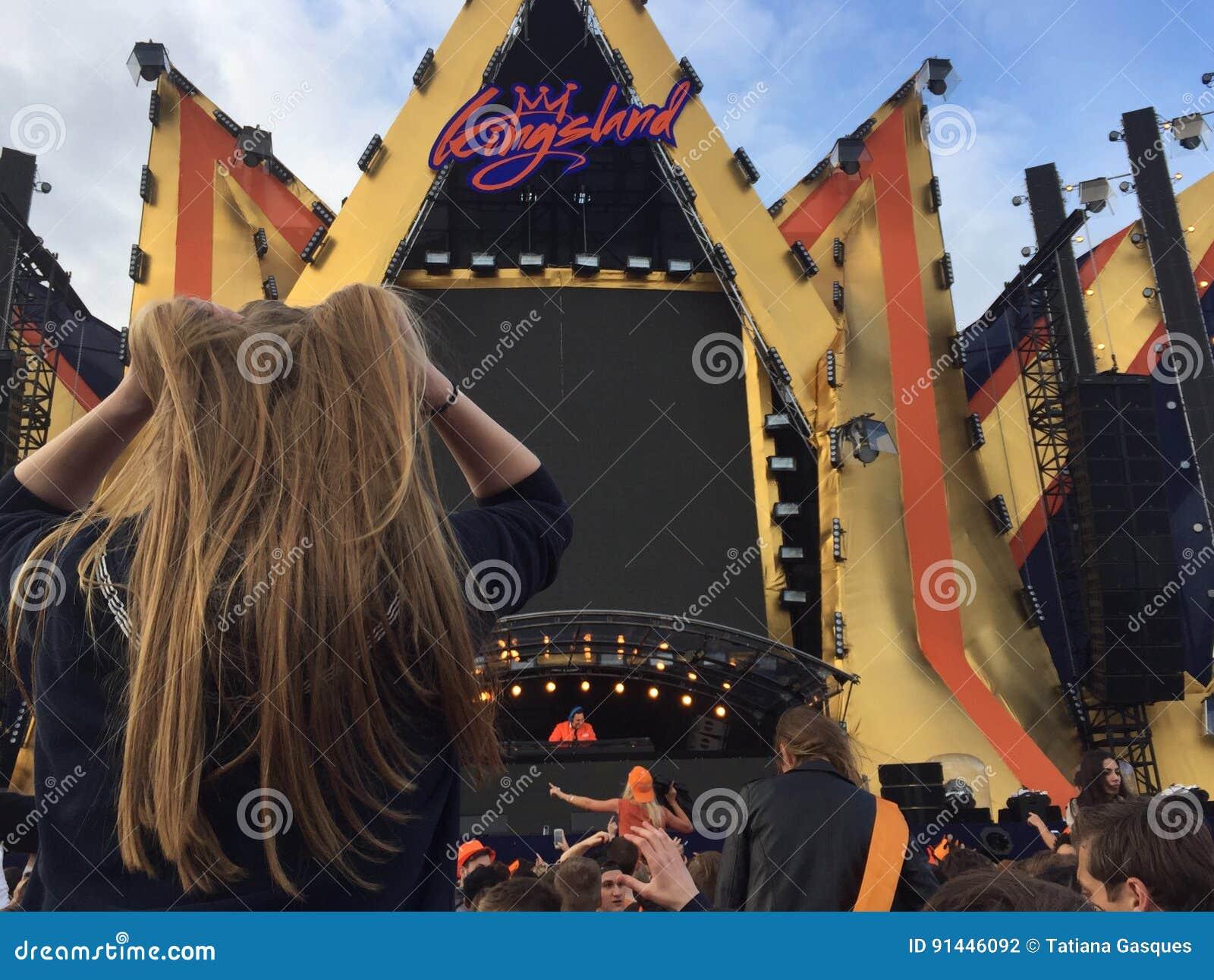 Kingslandfestival in Amsterdam