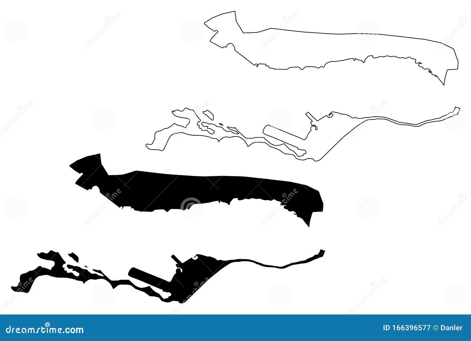 Kingston Parish Parishes Of Jamaica, Surrey County Map ...