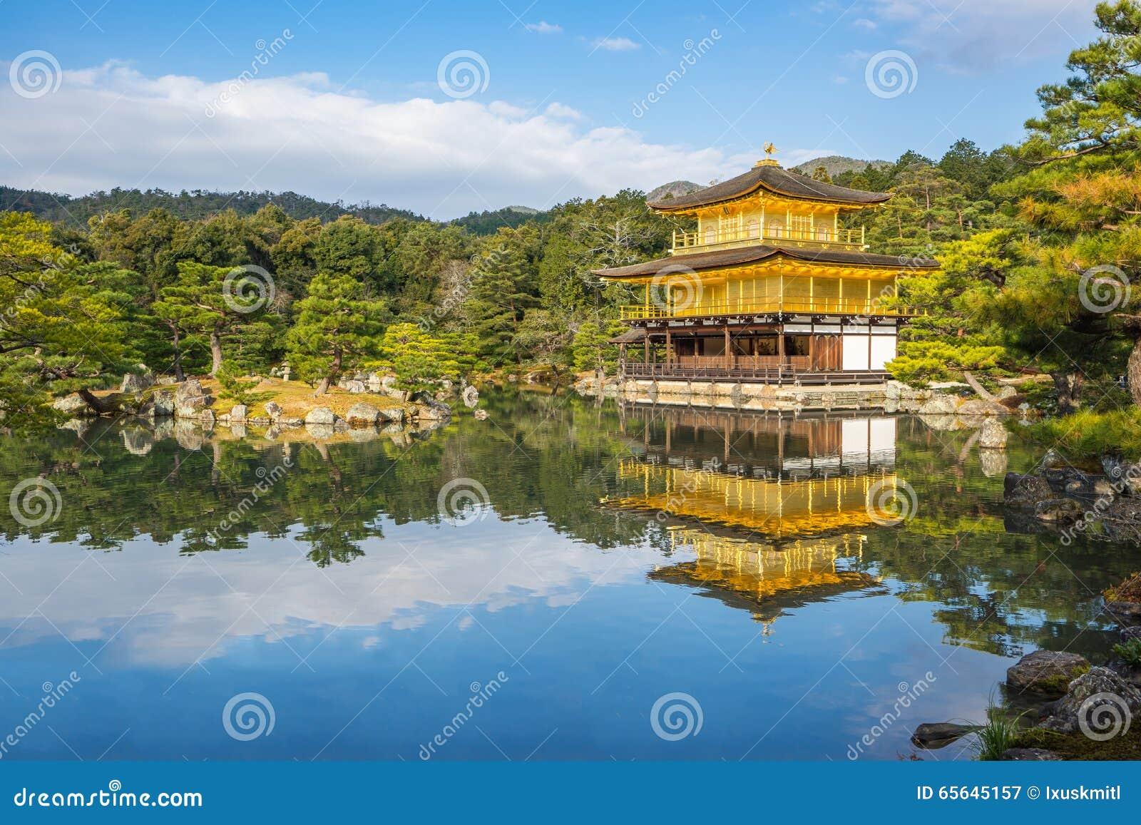 Kinkaku-JI, le pavillon d or à Kyoto, Japon