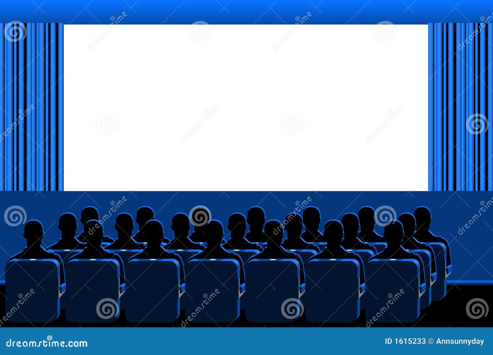 Kino - blauer Raum