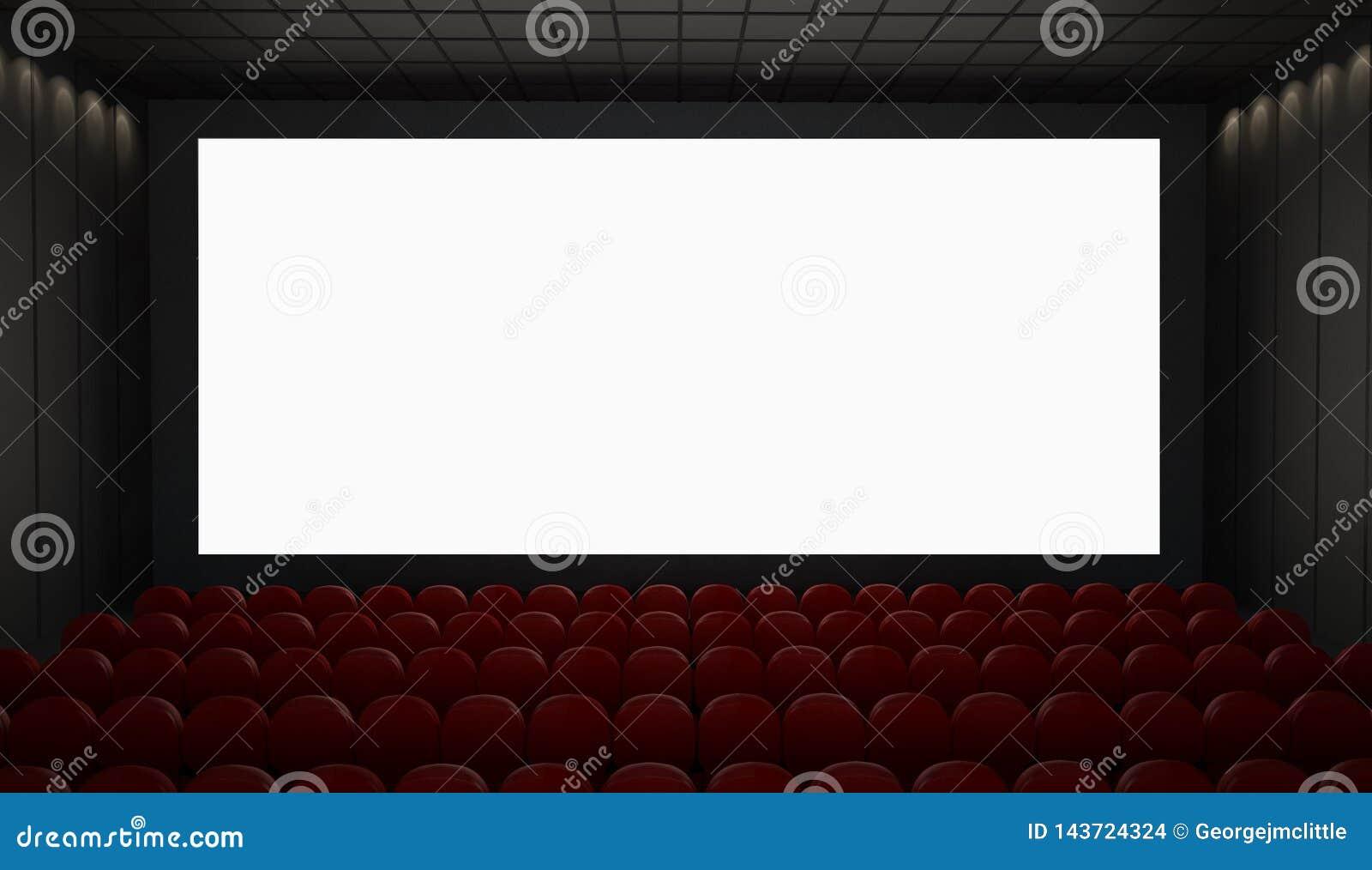 Kinoleinwandmodell