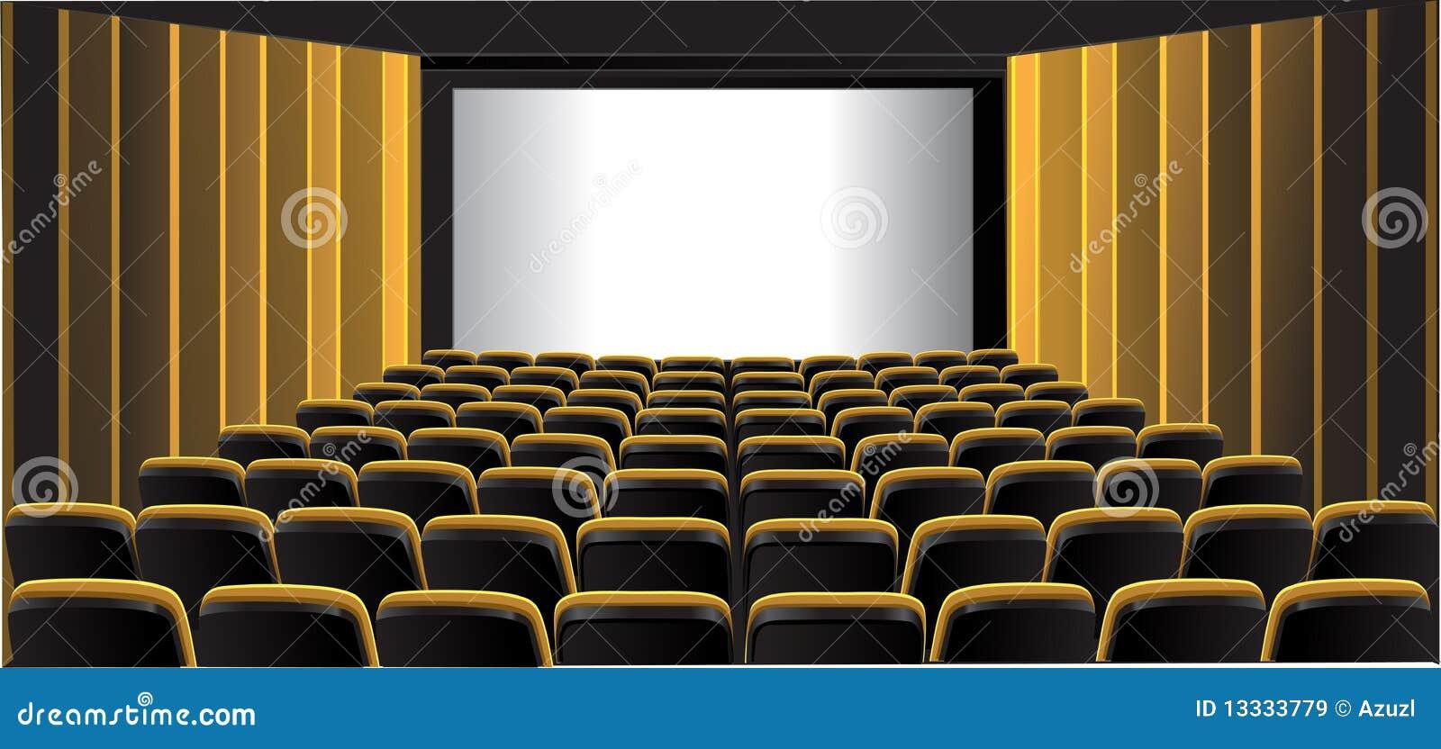 Kinowy izbowy pokazywać kolor żółty