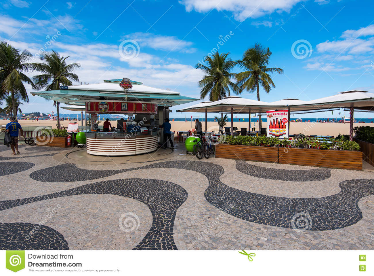 Kiosk in Copacabana
