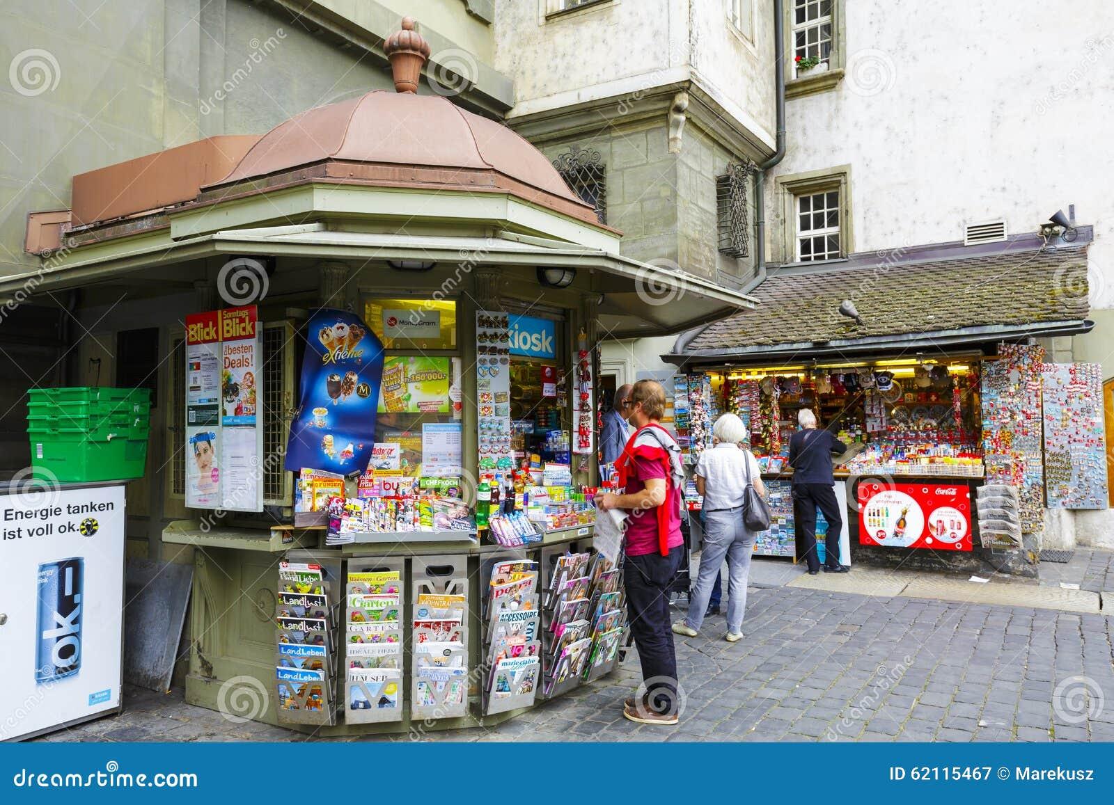 Kiosque à Berne