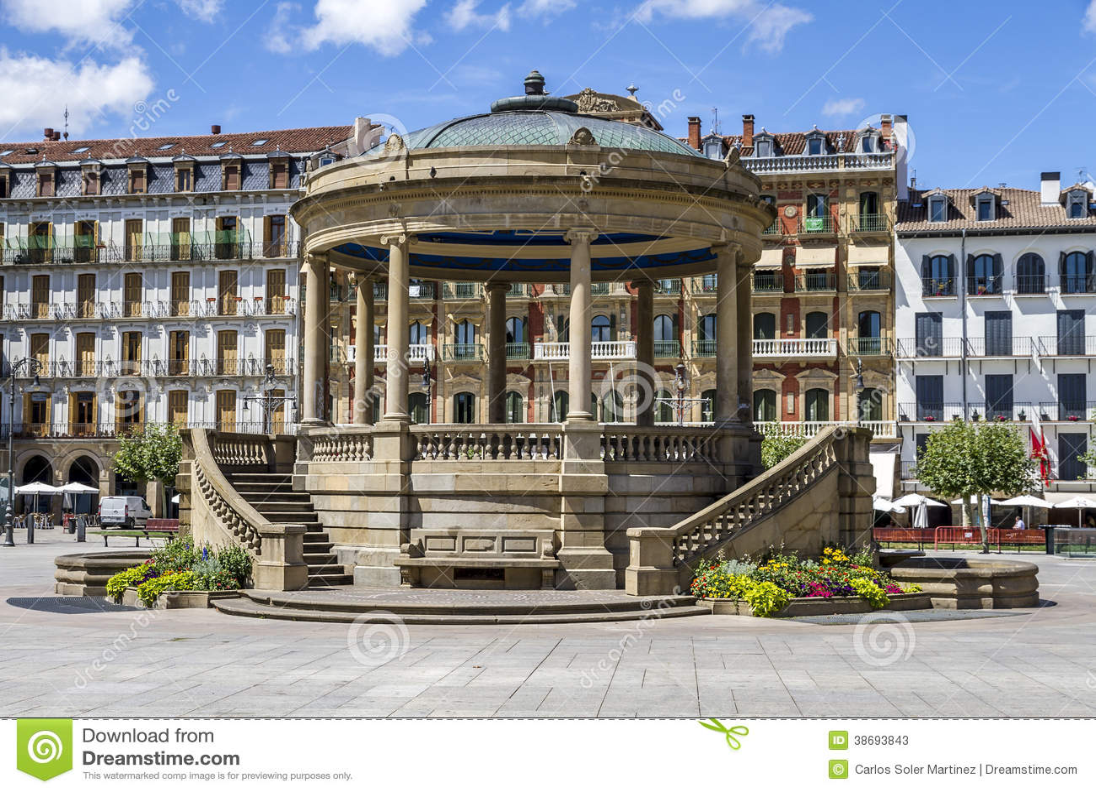 Kiosque à Pamplona