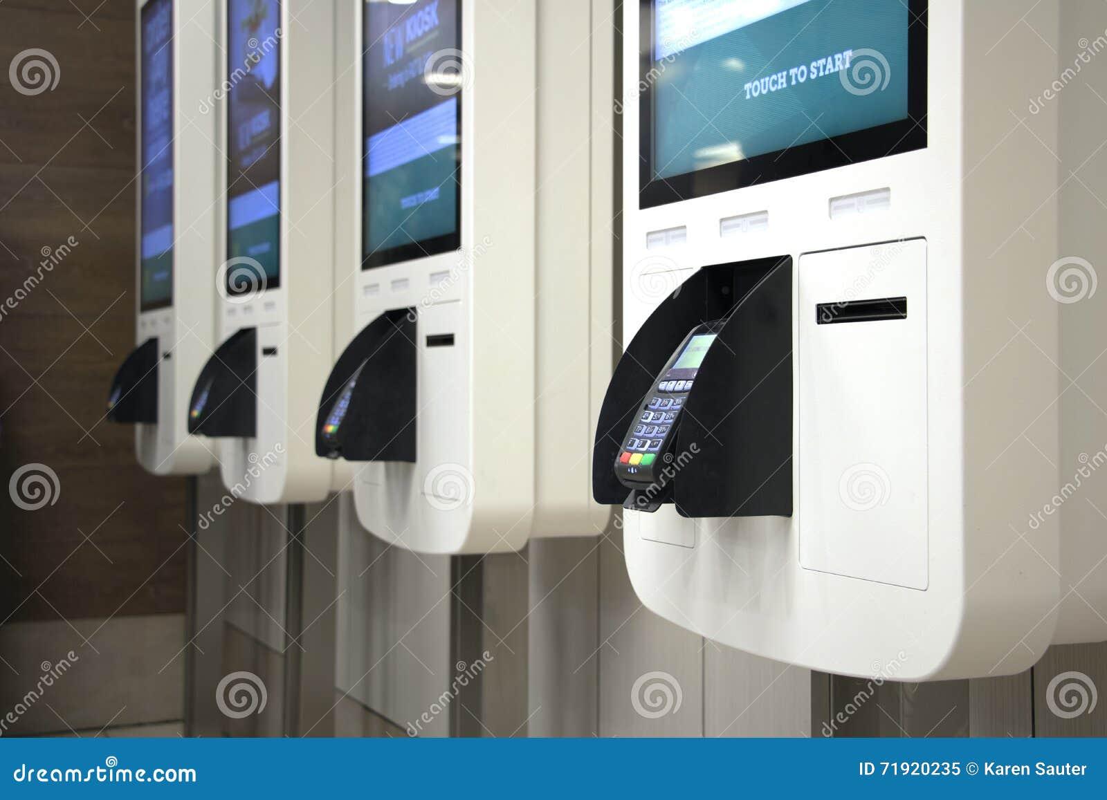 Kiosque de paiement