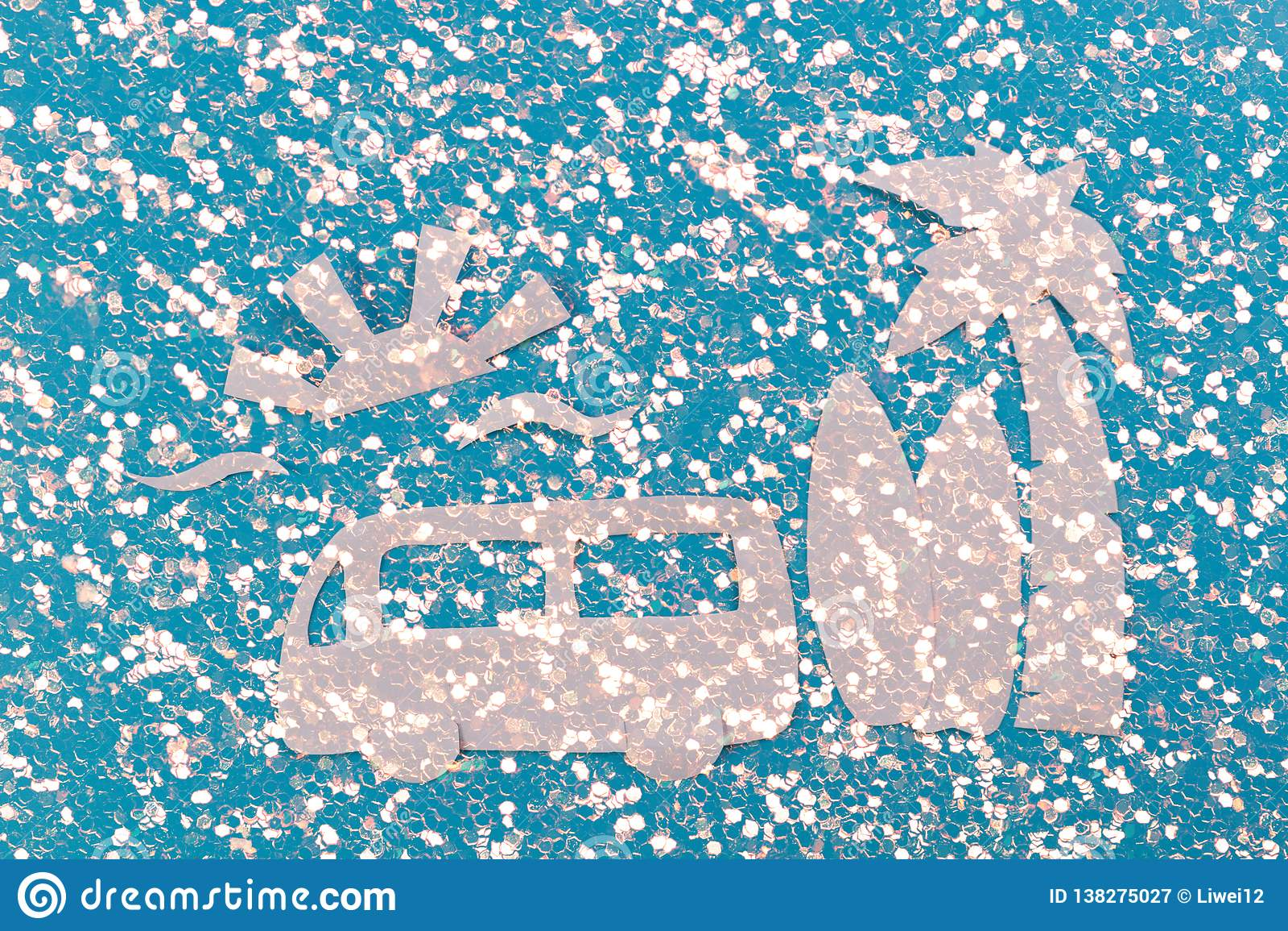 Kipiel samochód na plaży