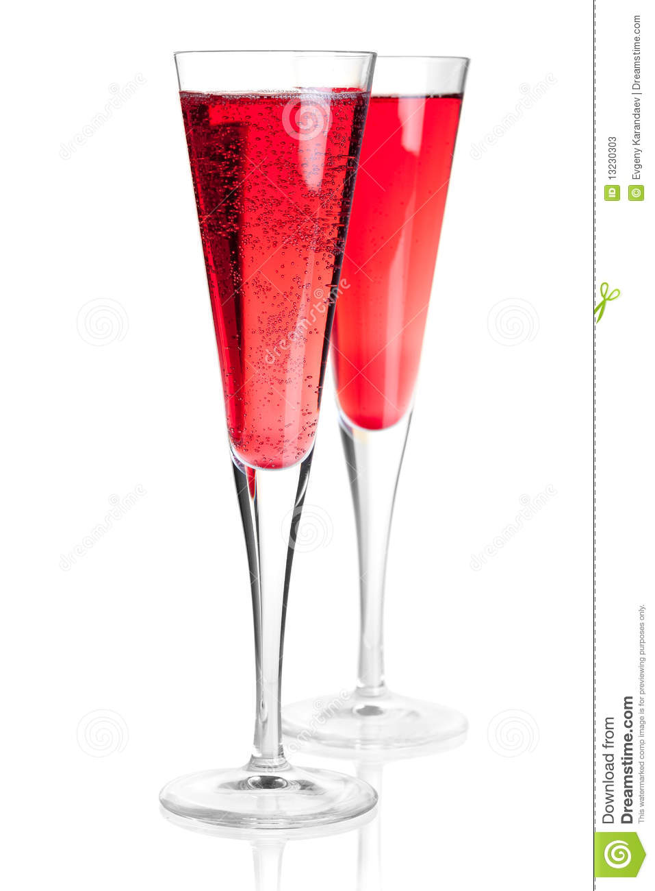 Kir royal alcohol cocktail stock photos image 13230303 for White wine based cocktails