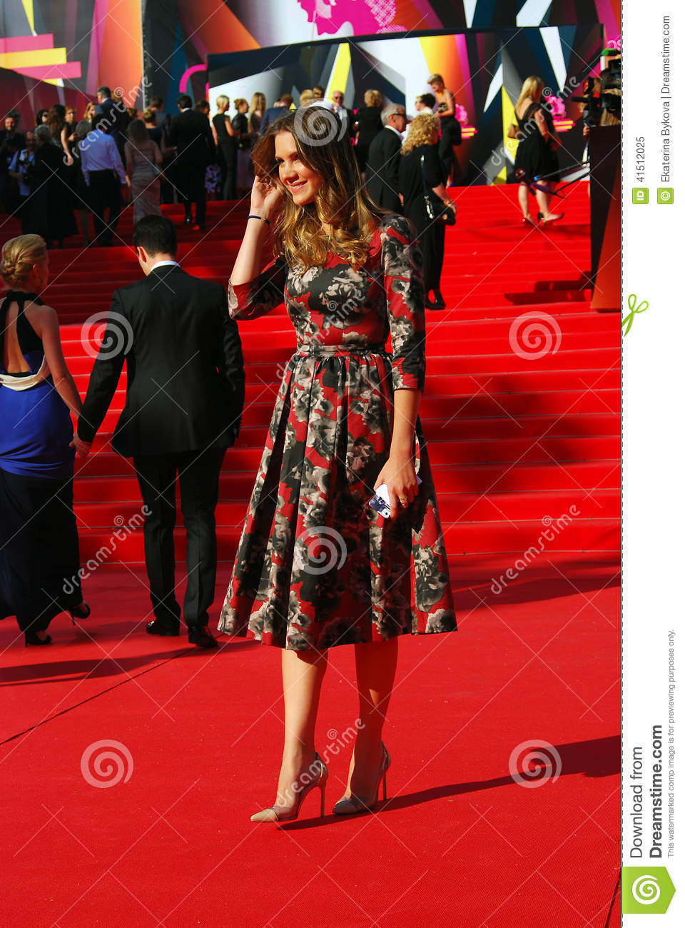 Kira Plastinina At Moscow Film Festival Editorial Image Image Of Famous Fashion 41512025