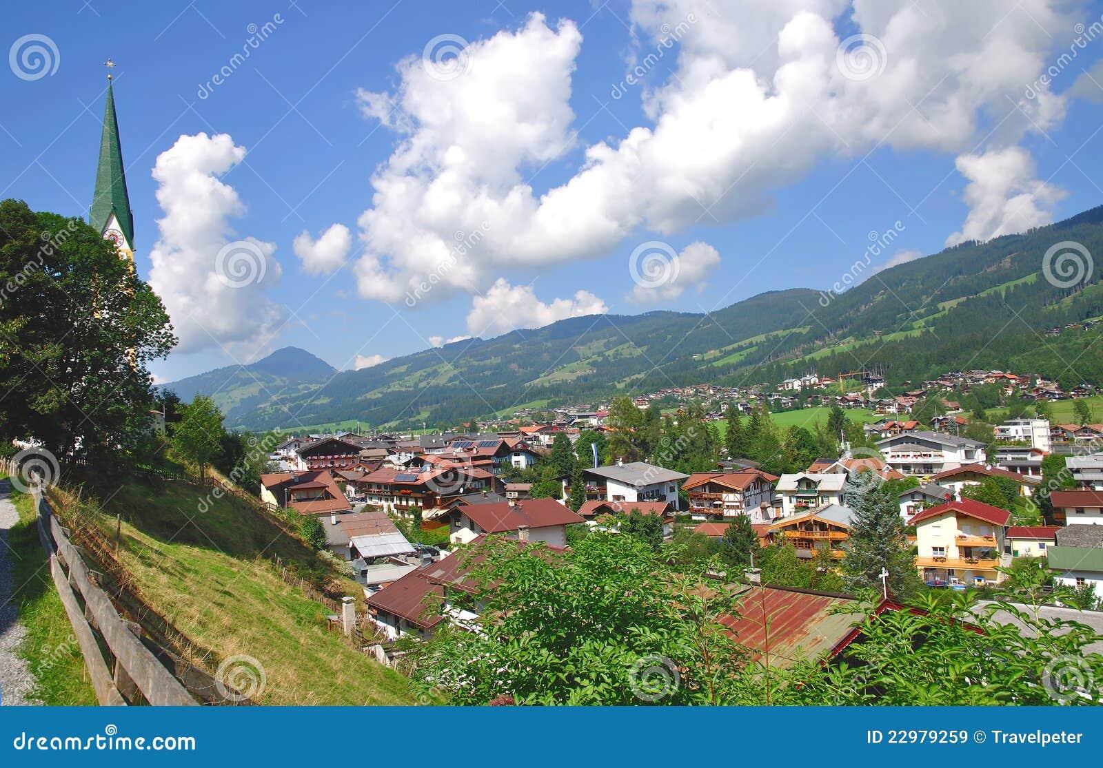Kirchberg in Tirol Austria  city photo : The village of Kirchberg in Tirol,Austria.