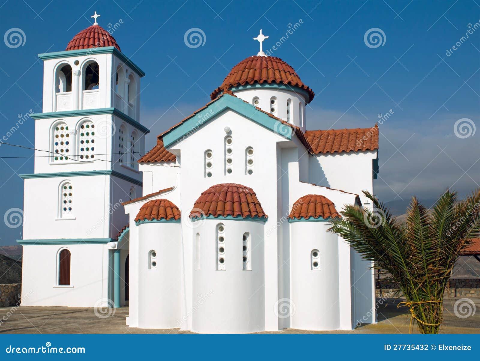 Kirche auf Kreta-Insel