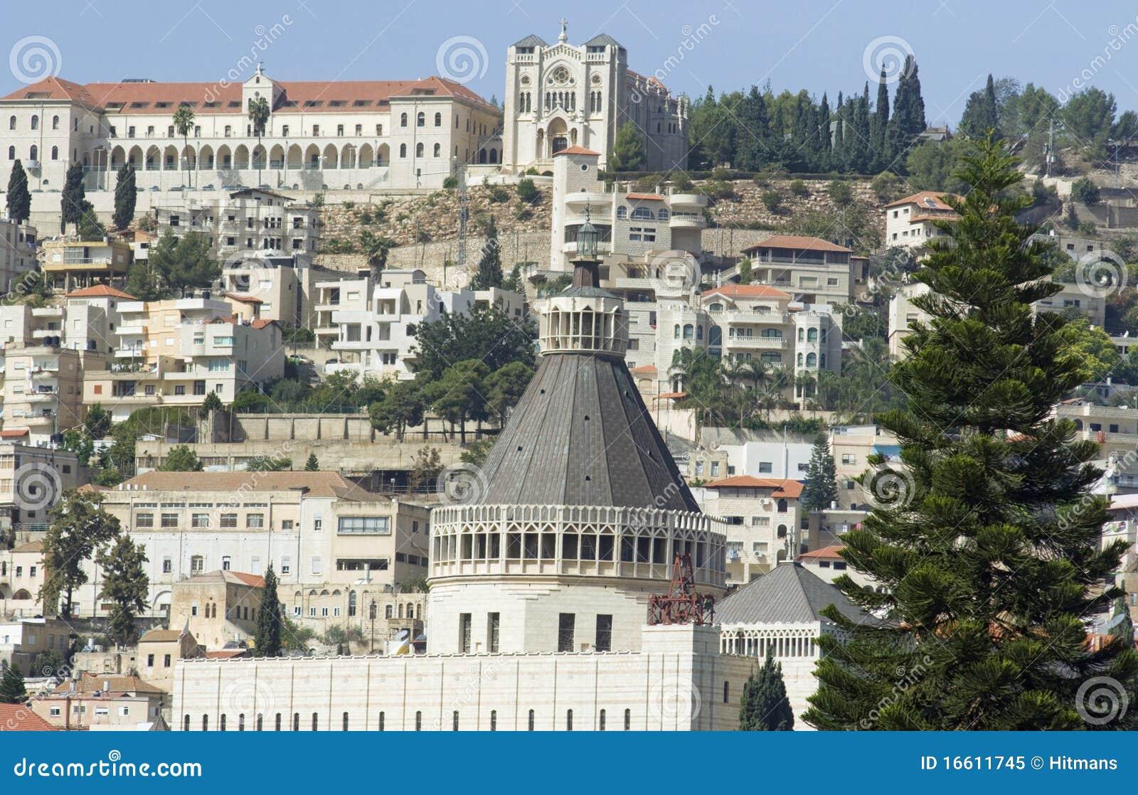 Kirche der Anzeigesansicht in Nazareth