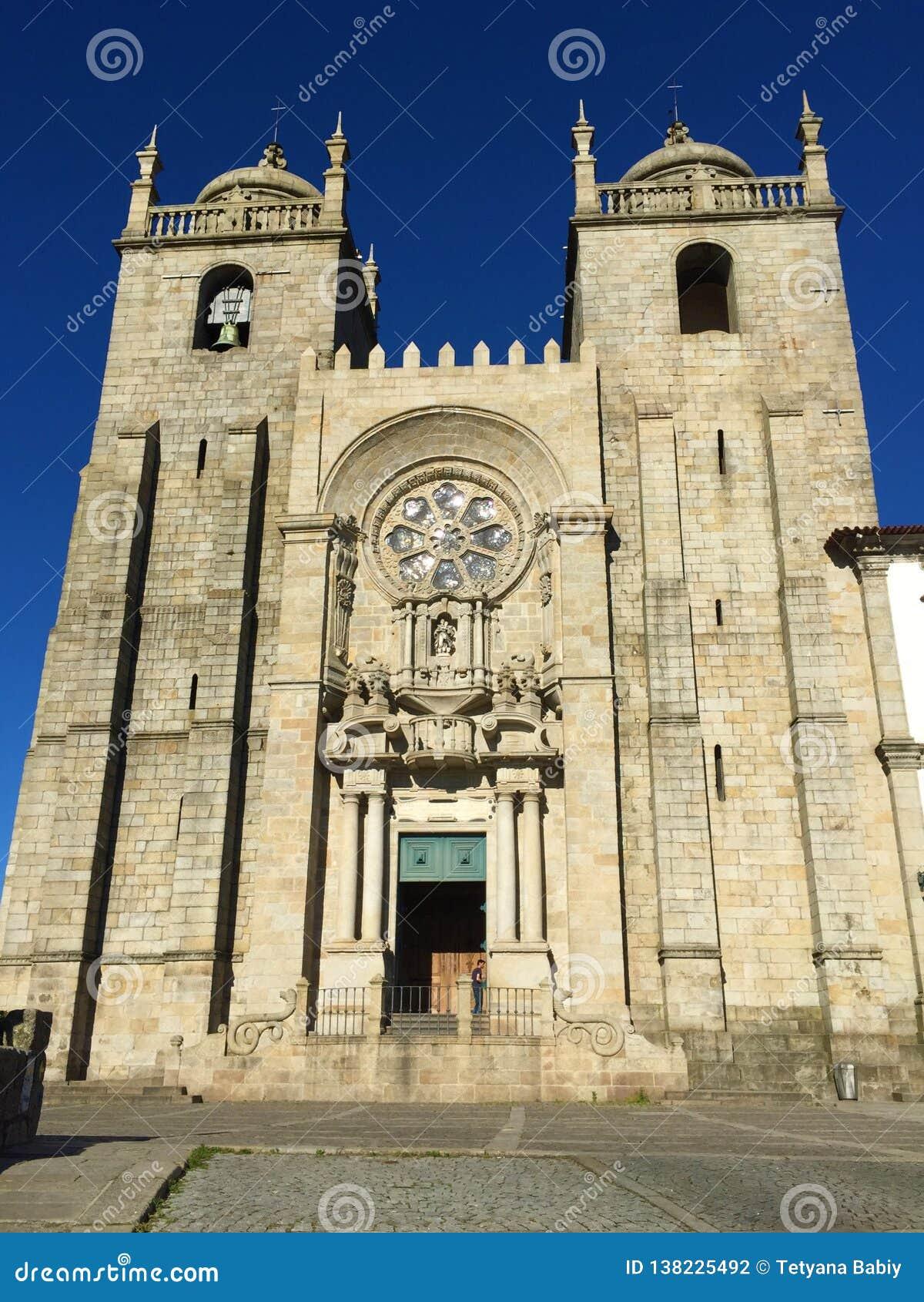 Kirche des Heiligen Ildefonso in Porto Portugal