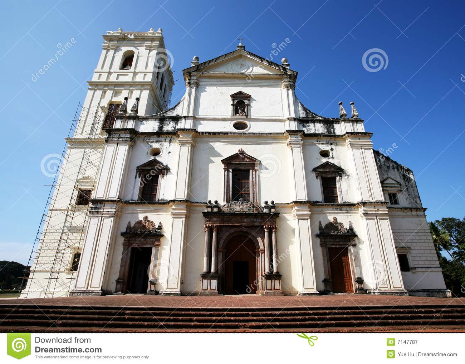 Kirche Goa Indien