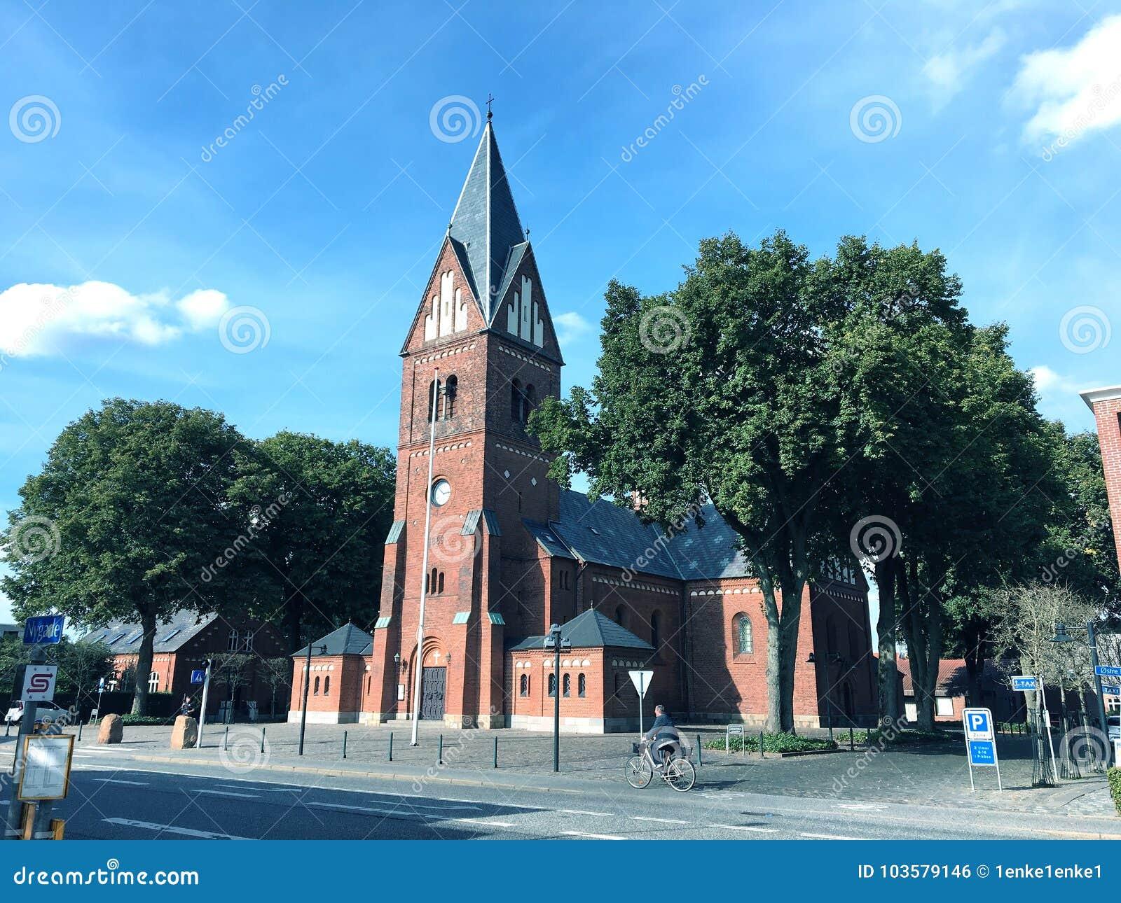 Kirche im Herning, Dänemark