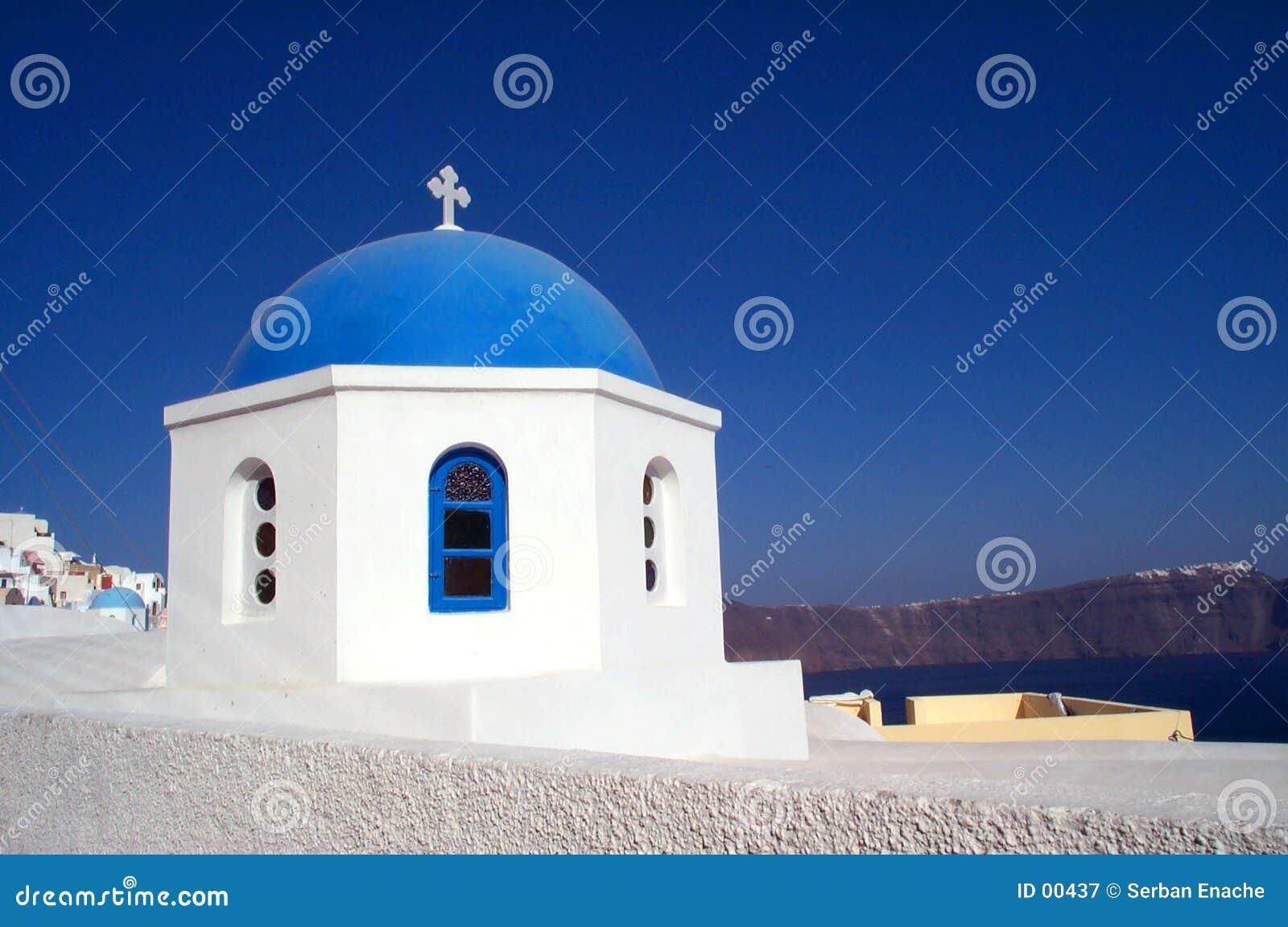Kirche in Santorini