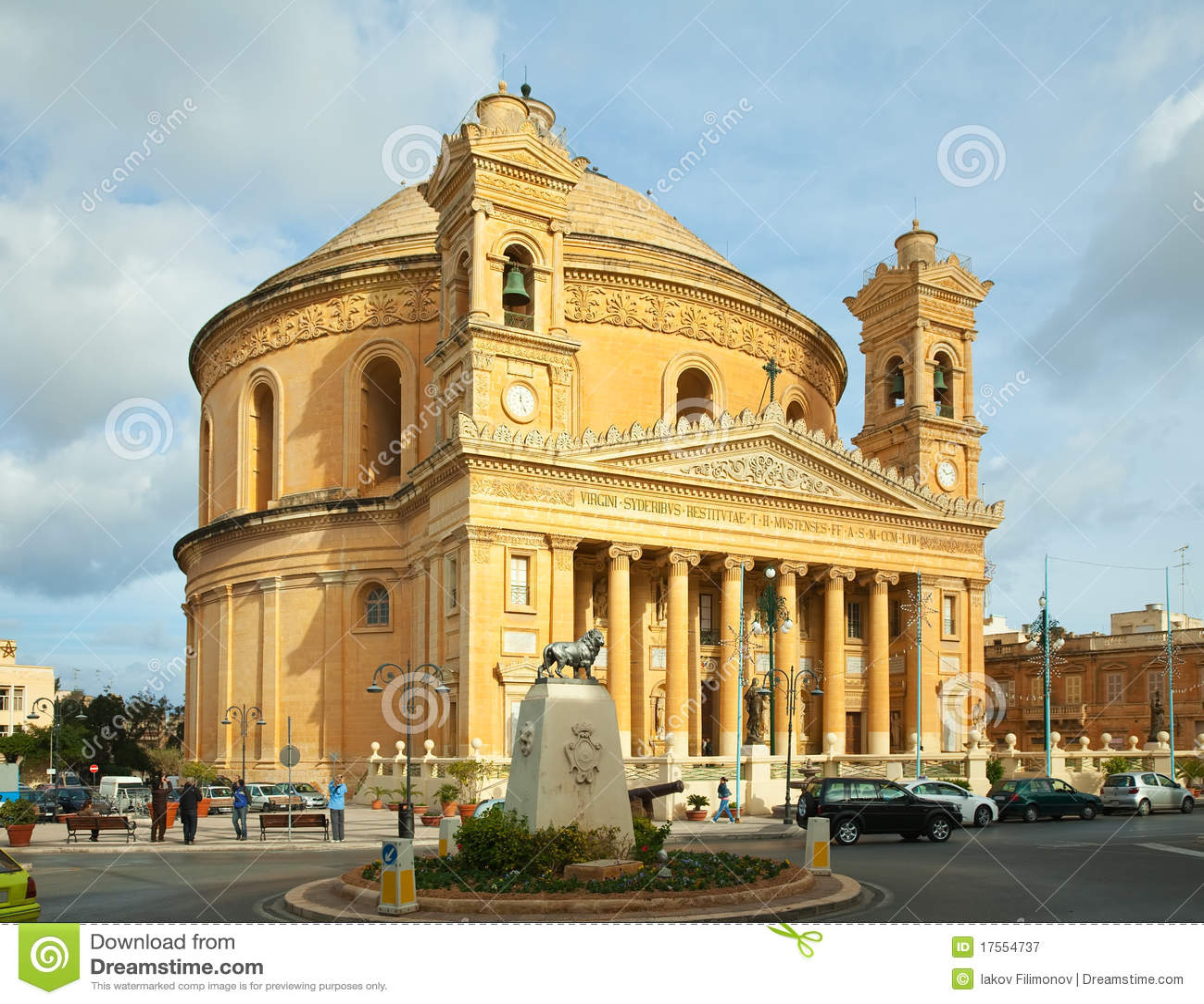 Kirche Str.-Mary bei Mosta. Malta