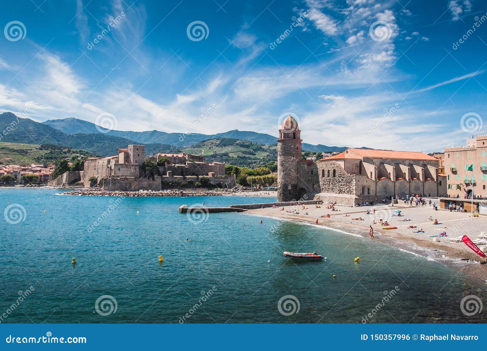 Kirche unserer Dame der Engel in Collioure, Frankreich