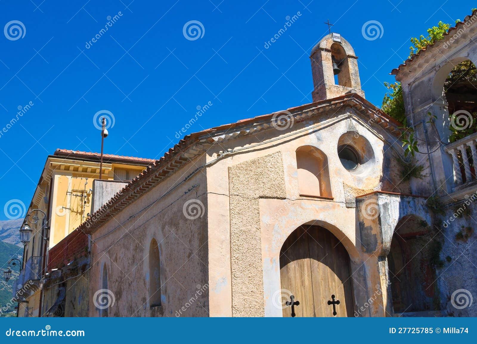 Kirche von Kalvarienberg. Maratea. Basilikata. Italien.