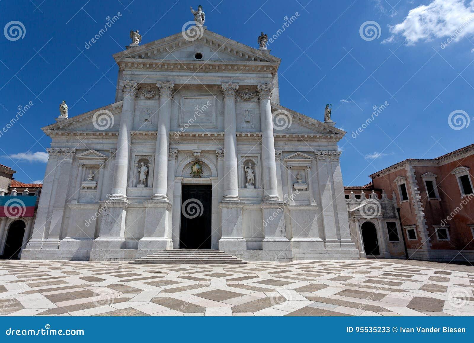 Kirche Von San Giorgio Maggiore In Venedig Italien Stockbild Bild