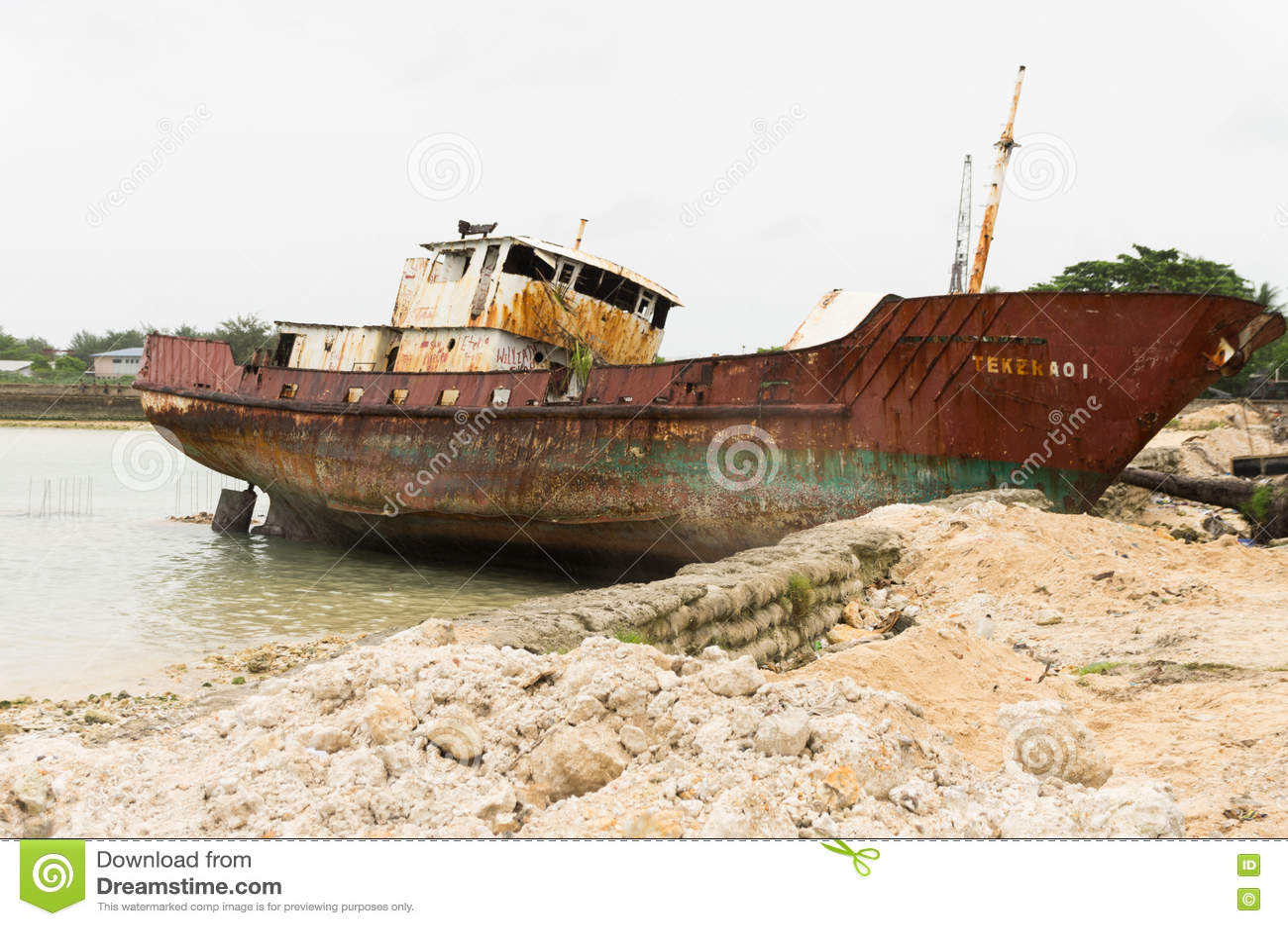 Kiribati schipbreuk