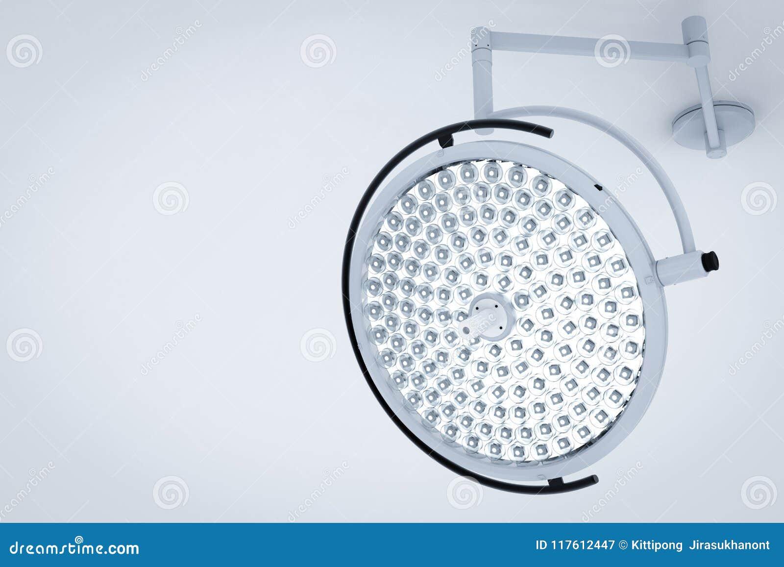 Kirurgiljus eller medicinska lampor