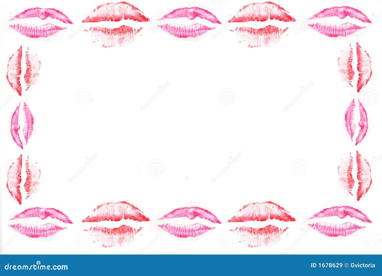Kiss Border Royalty Free Stock Images - Image: 1678629