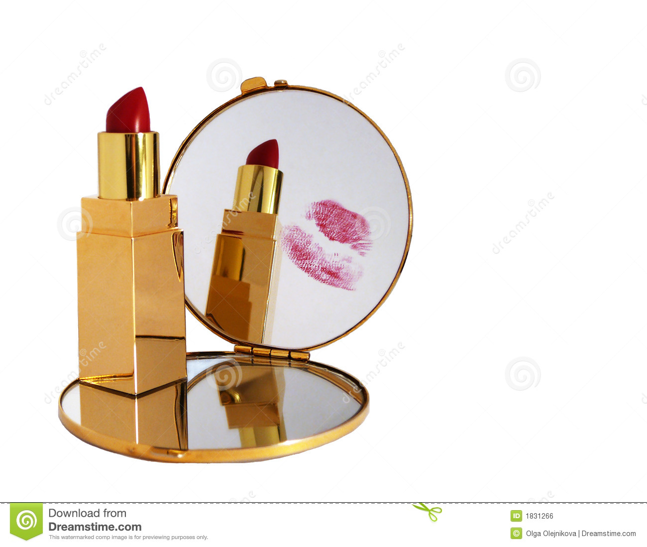 Kiss in mirror royalty free stock image image 1831266 for Mirror kisses