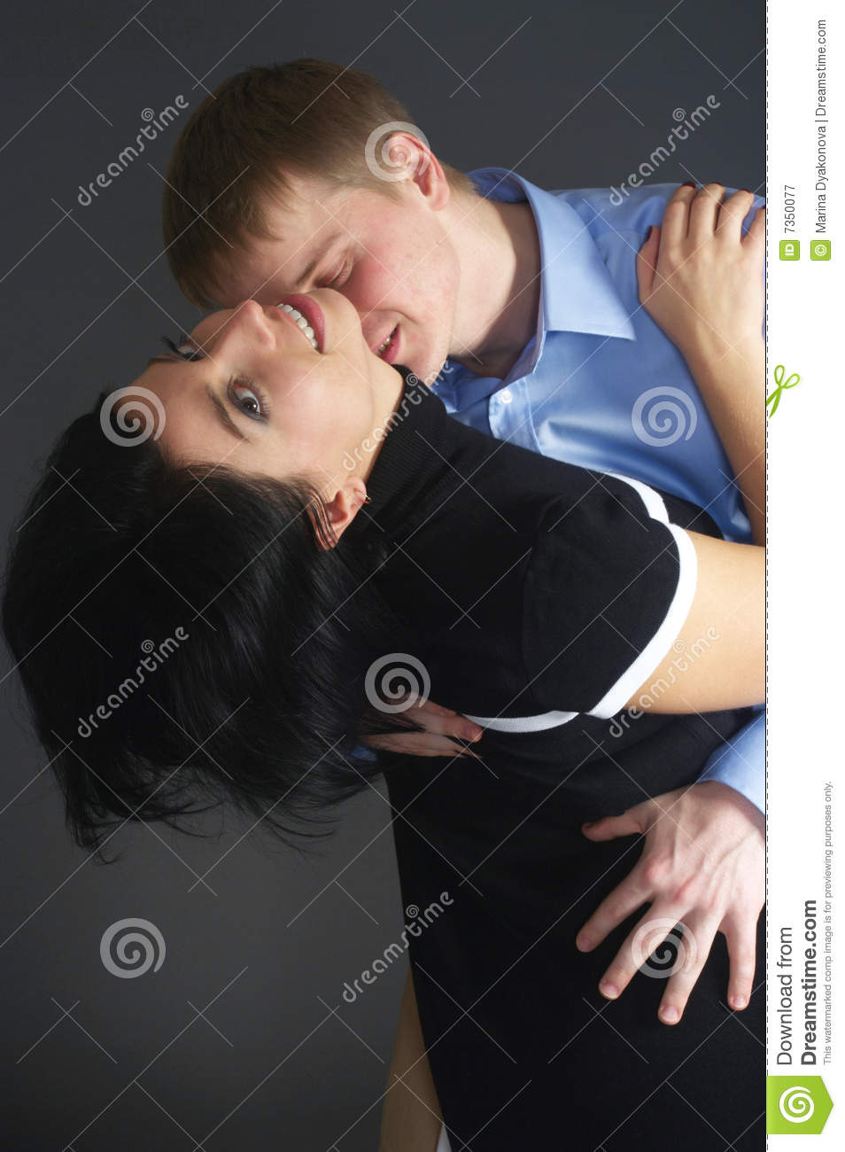 kiss in neck stock image image of kiss romance female