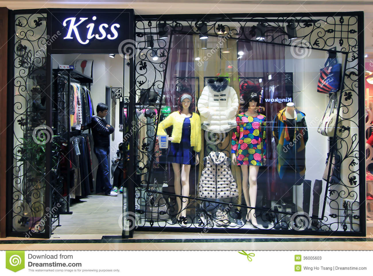 Clothing stores online   Kiss clothing store