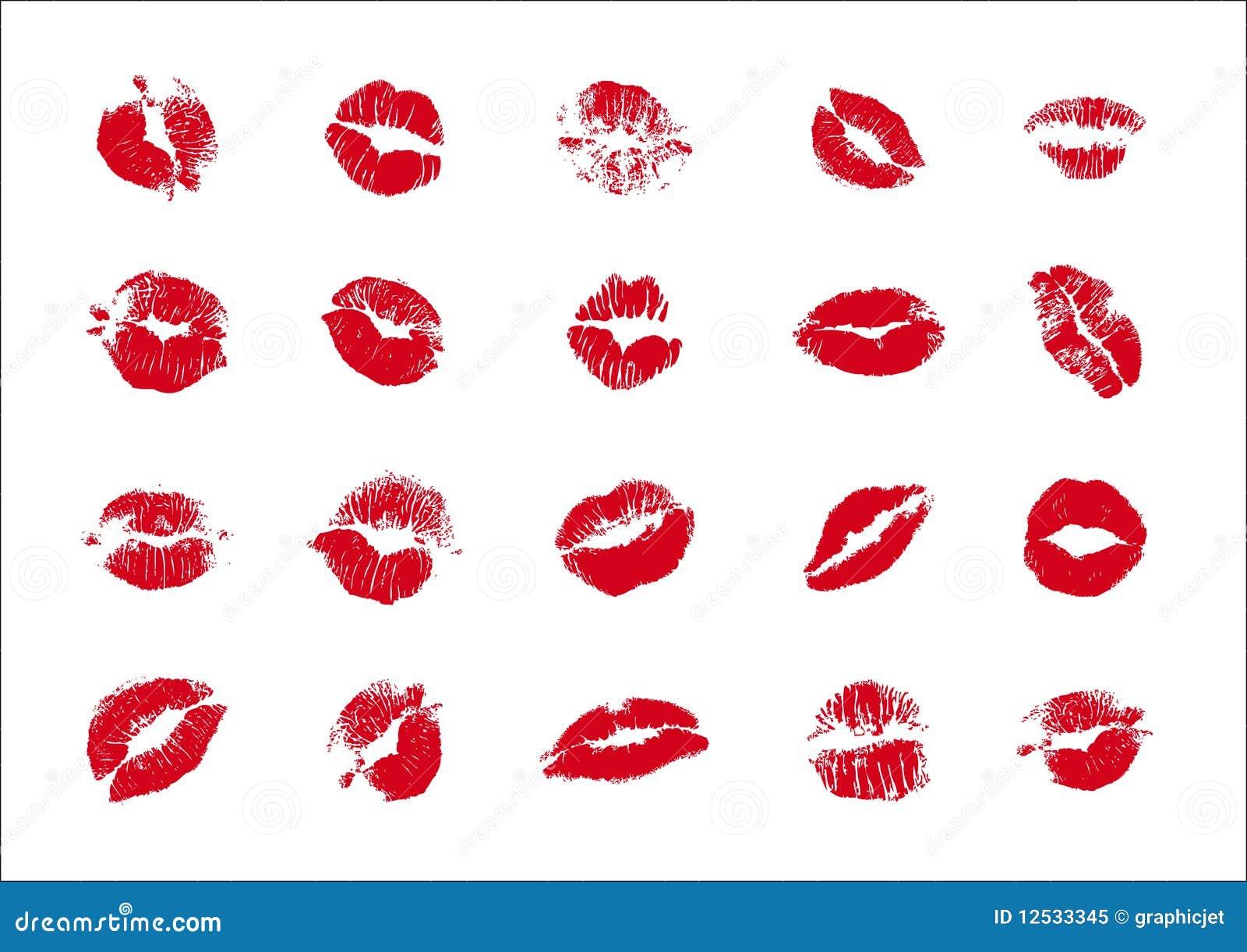 Kisses Stock Vector Image Of Kisses Female Love Tender