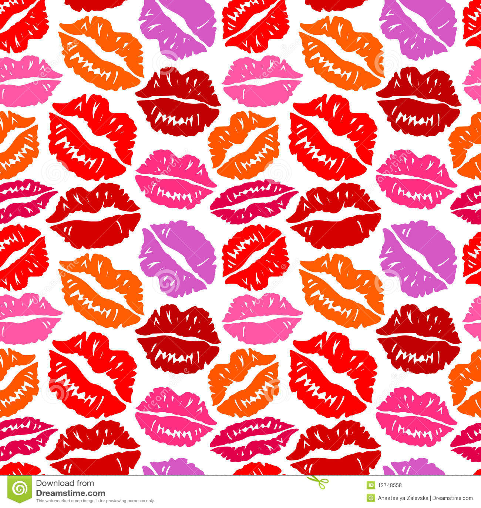 Lip Print WallpaperLip Print Wallpaper