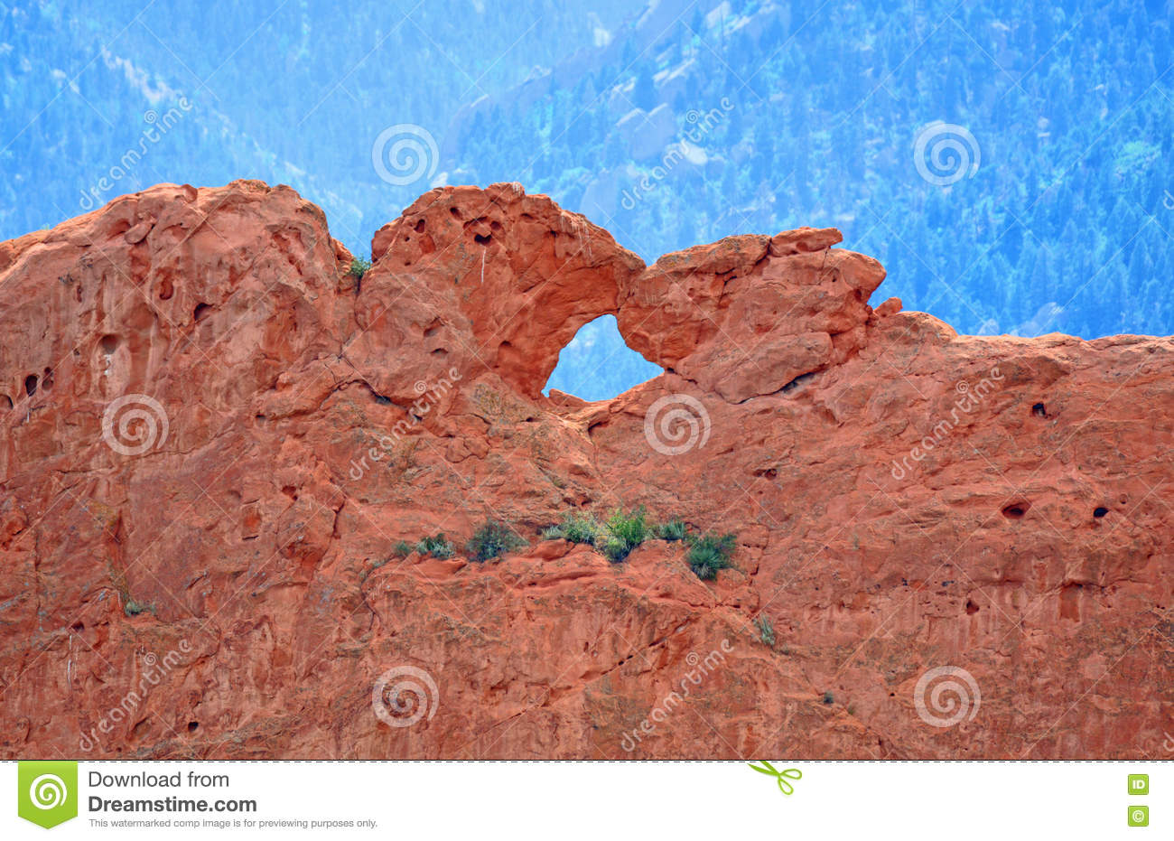Kissing Camels At Garden Of The Gods Colorado Springs