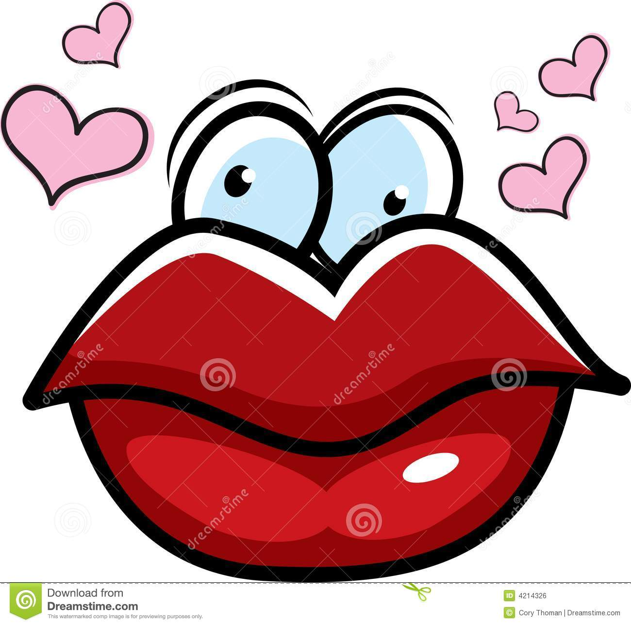 free animated kisses clipart - photo #29