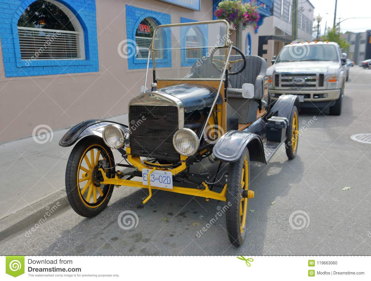 Kit Car Replica Of Ford Model T Editorial Image Image Of Head Ford 119663060