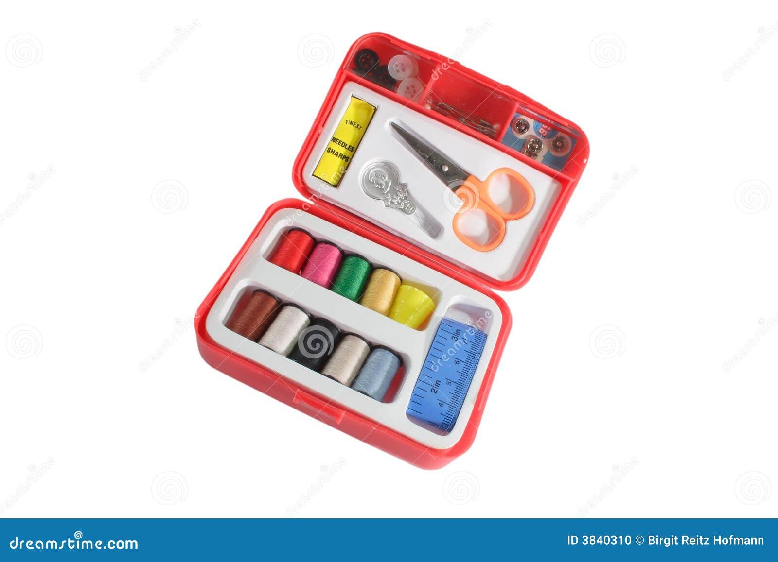 Kit de couture rouge