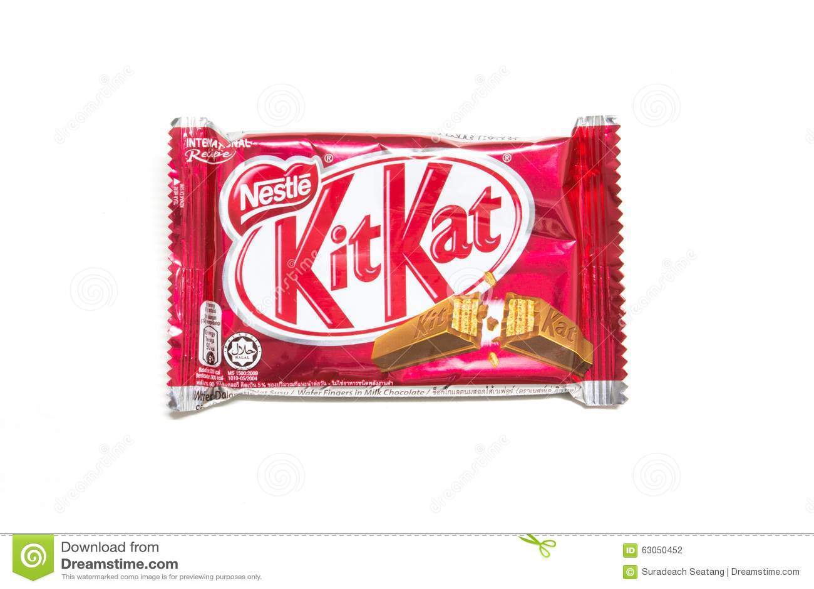 Kit Kat Chocolate Editorial Photography - Image: 63050452