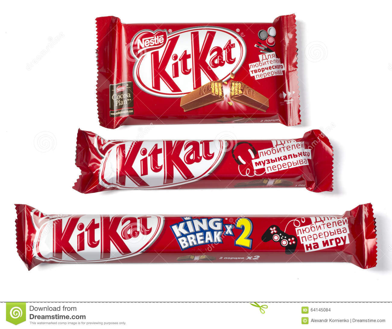 Kit Kat Series For Those Who Like To Break Candy Chocolate ...
